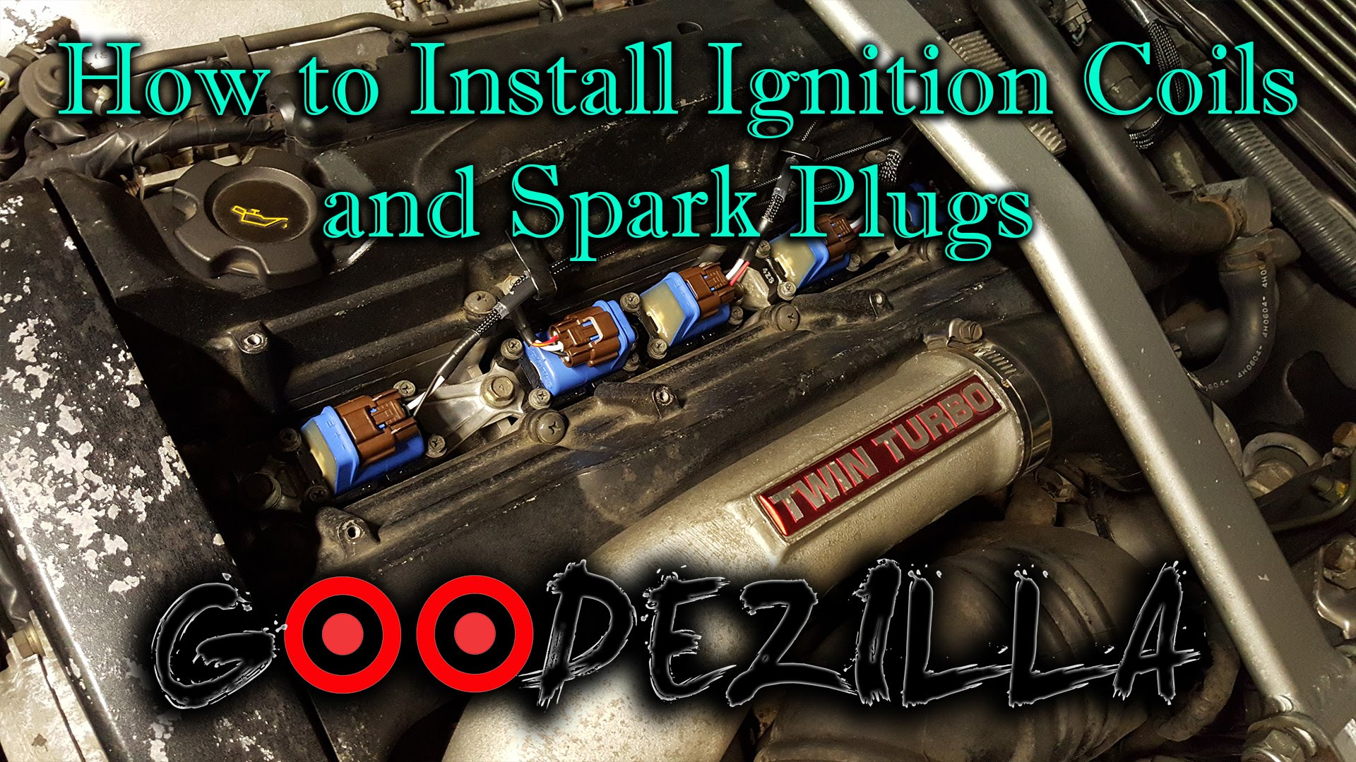 How to Install Ignition Coils and Spark Plugs on a R32