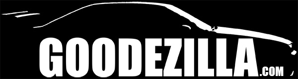 GoodeZilla Sticker - White