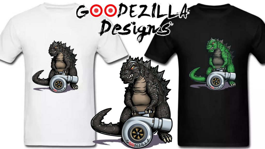 Get Godzilla shirts NOW!